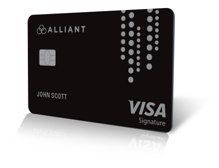 Alliant Visa Signature Credit Card